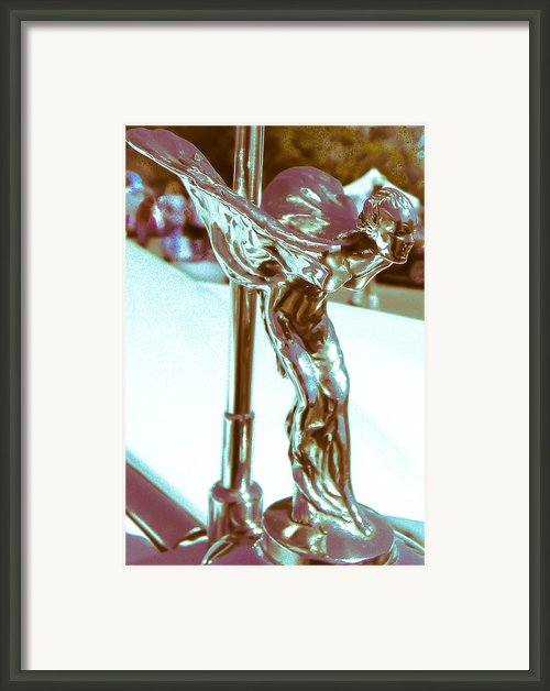 Flying Lady Framed Print By Christy Usilton