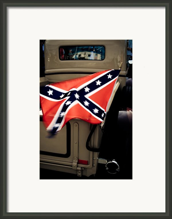 Flying The Flag Framed Print By Phil
