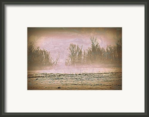 Fog Abstract 2 Framed Print By Marty Koch