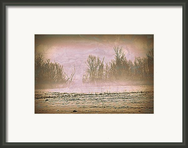 Fog Abstract 2 Framed Print By Marty Koch