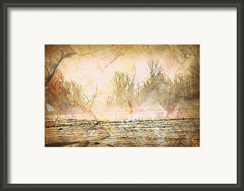 Fog Abstract 4 Framed Print By Marty Koch