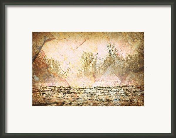 Fog Abstract 4 Framed Print By Marty Koch