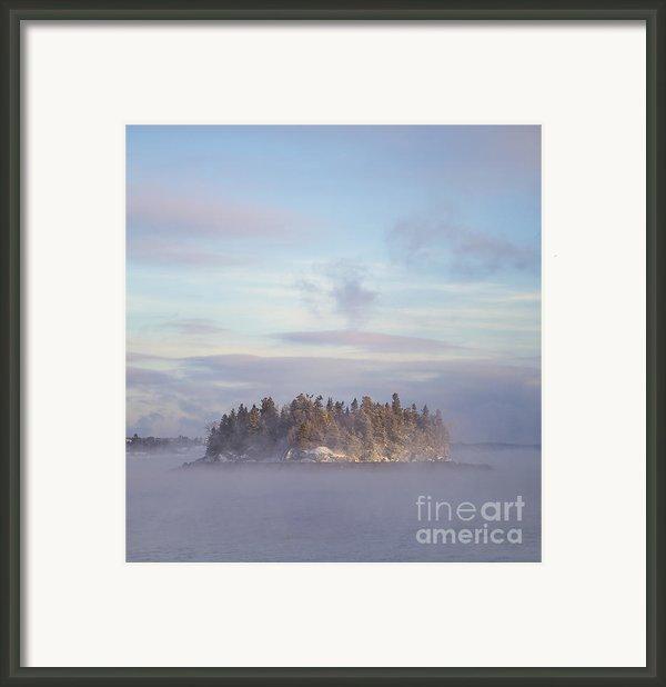 Fogscape Framed Print By Evelina Kremsdorf