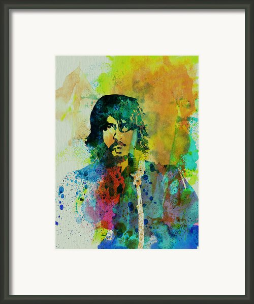 Foo Fighters Framed Print By Irina  March