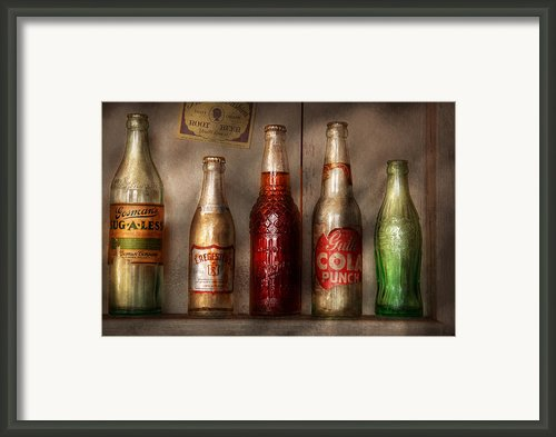 Food - Beverage - Favorite Soda Framed Print By Mike Savad