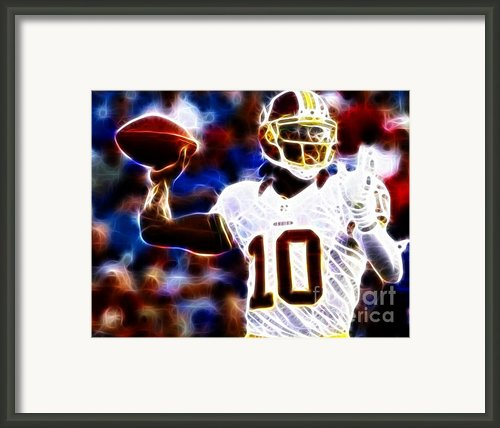Football - Rg3 - Robert Griffin Iii Framed Print By Paul Ward