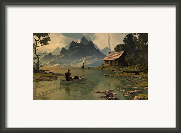 For All That I Can See Framed Print By Dieter Carlton