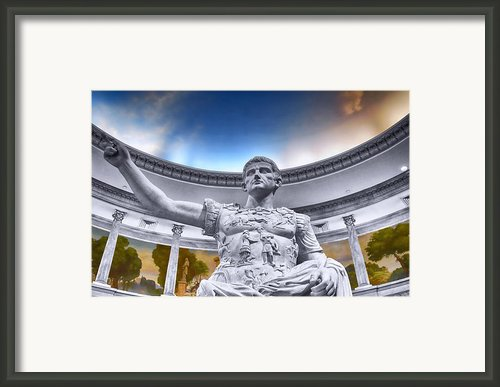 For Caesar Framed Print By Paul Freitas