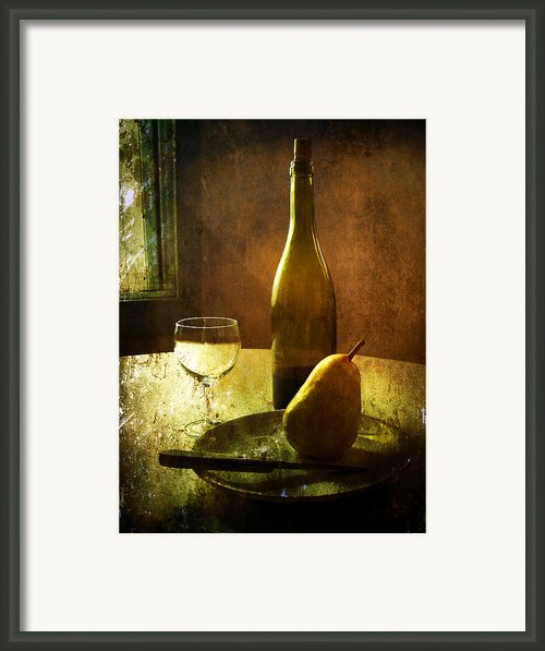 For One Framed Print By Julie Palencia