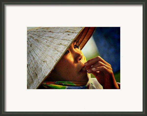 For Survival Framed Print By Suradej Chuephanich