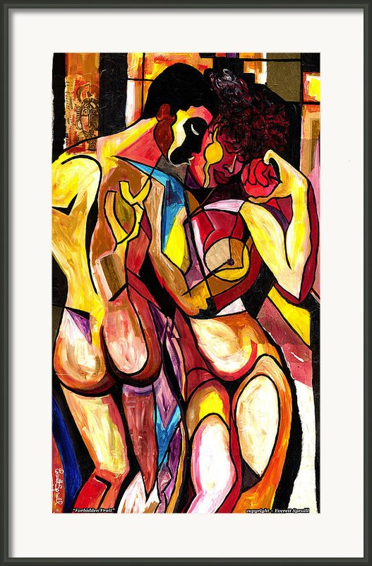 Forbidden Fruit 2007 Framed Print By Everett Spruill