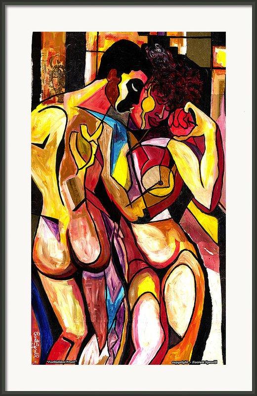 Forbidden Fruit 2007 Framed Print By Everett Spruill