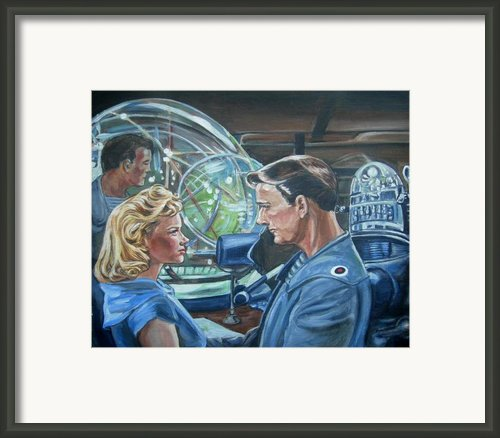 Forbidden Planet Framed Print By Bryan Bustard