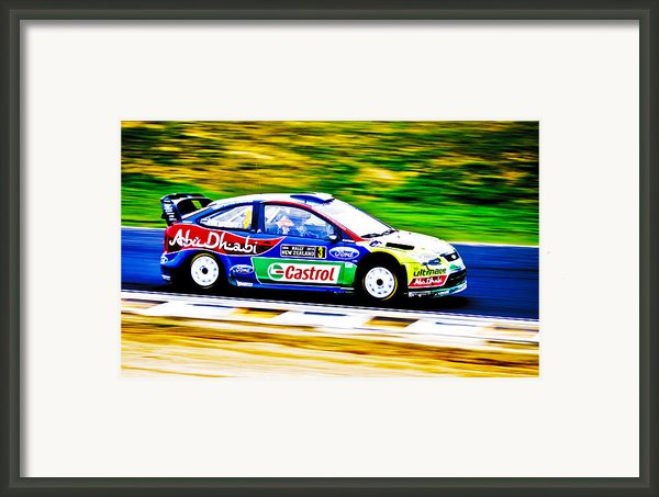 Ford Focus Wrc Framed Print By Motography Aka Phil Clark