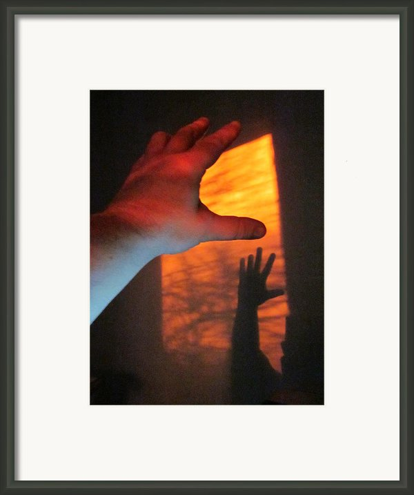 Forever Living Hands Framed Print By Guy Ricketts