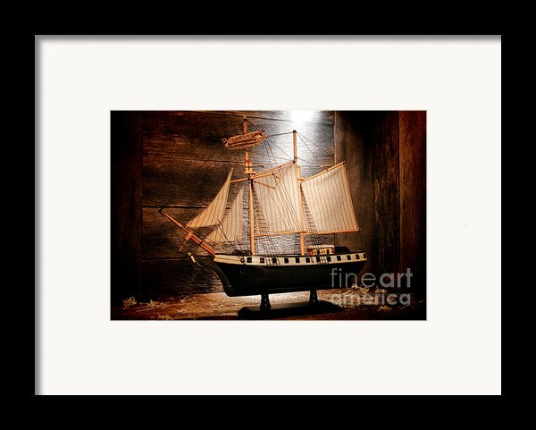 Forgotten Toy Framed Print By Olivier Le Queinec