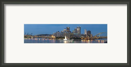 Forks Of The Ohio Framed Print By Jennifer Grover