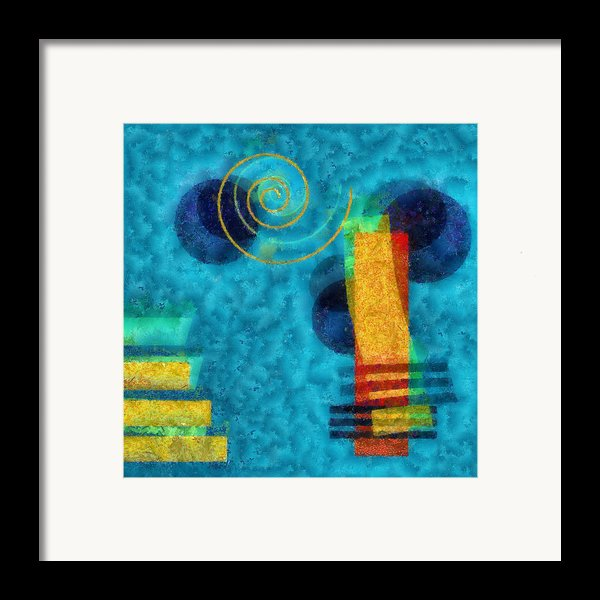 Formes 02b Framed Print By Variance Collections