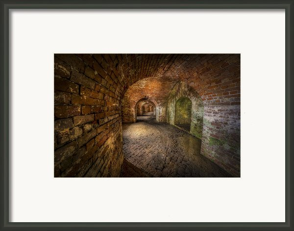 Fort Macomb Framed Print By David Morefield