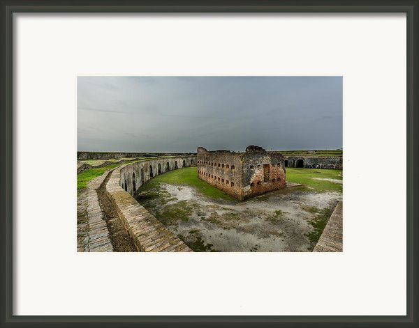 Fort Pike Framed Print By David Morefield