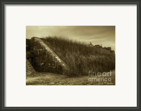 Fort Taber No. 1 Framed Print By Dave Gordon