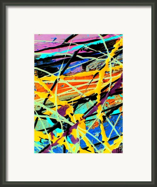Fossilized Acrylic Framed Print By David Rogers