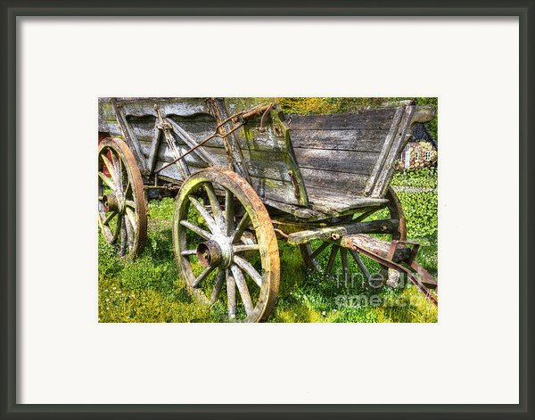 Four Wheels But No Horse Framed Print By Heiko Koehrer-wagner