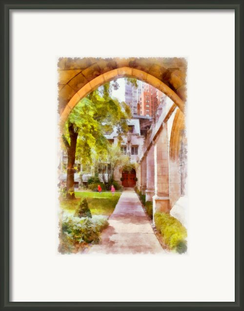 Fourth Presbyterian - A Chicago Sanctuary Framed Print By Christine Till