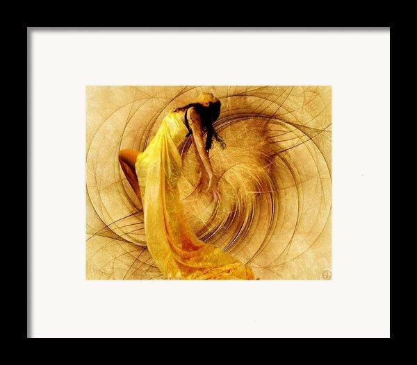 Fractal Dance Of Joy Framed Print By Gun Legler