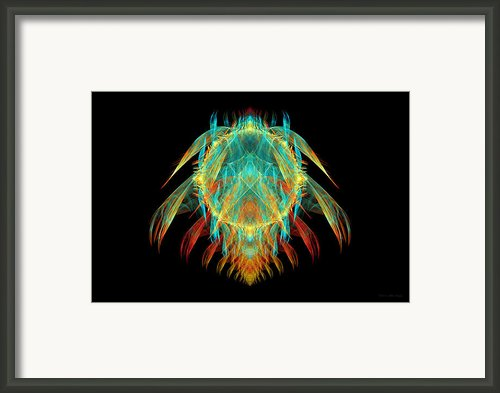 Fractal - Insect - I Found It In My Cereal Framed Print By Mike Savad