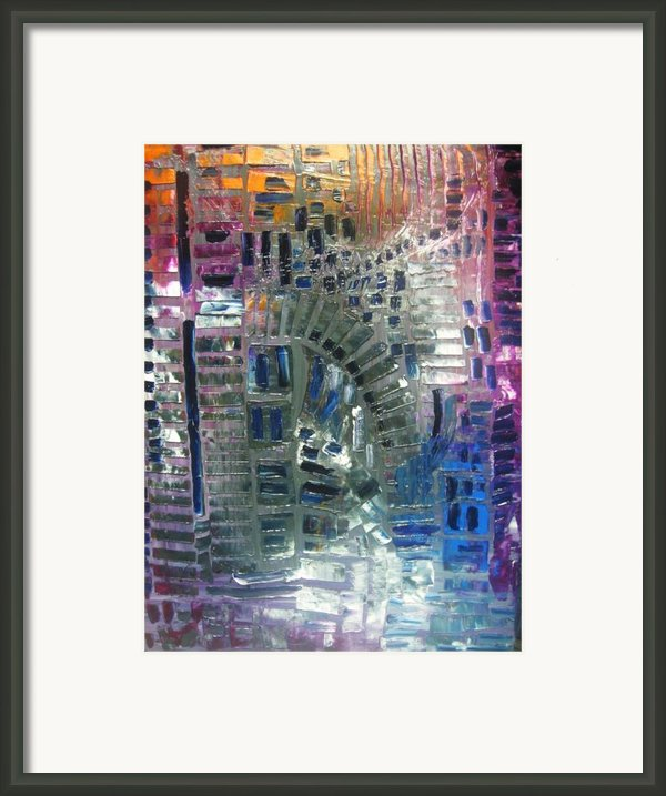 Fracture Framed Print By Michael Kulick