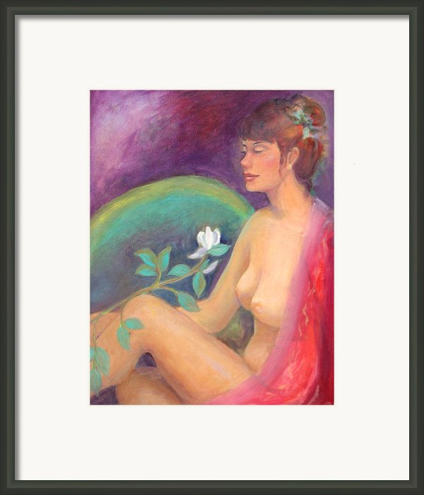 Fragrance Of A Dream Framed Print By Gwen Carroll