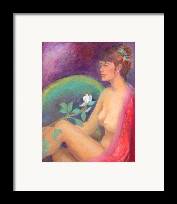 Fragrance Of A Dream Framed Print By Gwen Carroll