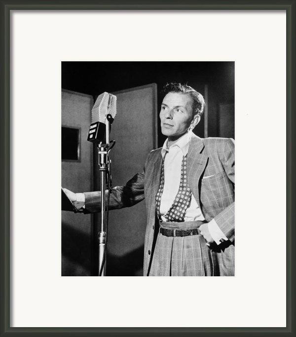 Frank Sinatra Framed Print By Mountain Dreams