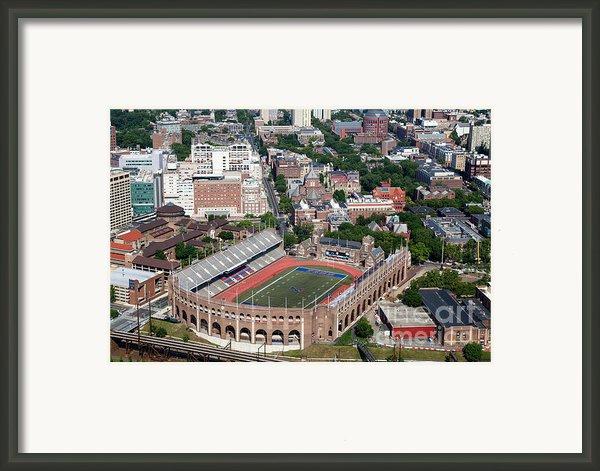 Franklin Field University City Pennsylvania Framed Print By Bill Cobb