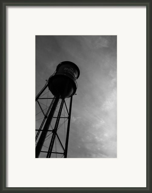 Franklin Tower Framed Print By David Johnston