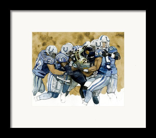 Fred Taylor Framed Print By Michael  Pattison