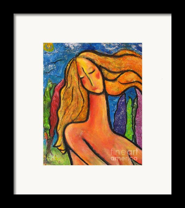 Freedom Framed Print By Chaline Ouellet