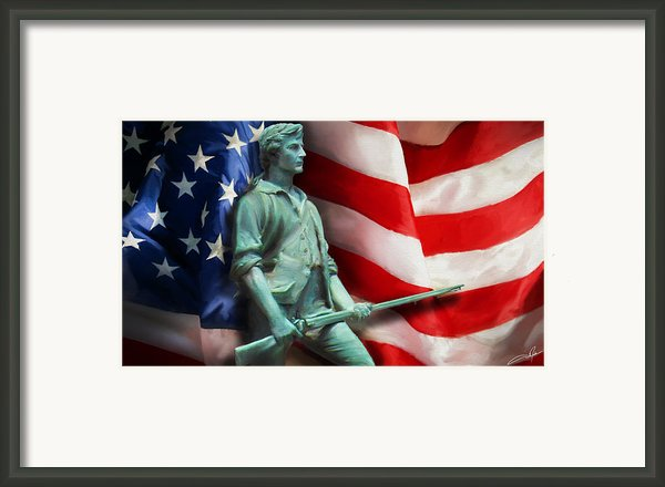 Freedom Framed Print By Dale Jackson