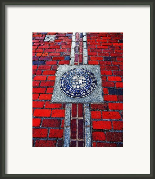 Freedom Trail Framed Print By Benjamin Yeager