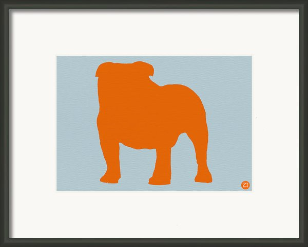 French Bulldog Orange Framed Print By Irina  March
