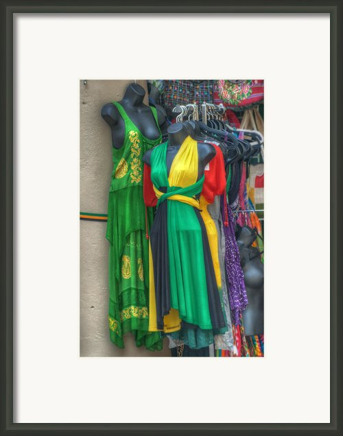 French Market Color Framed Print By Brenda Bryant