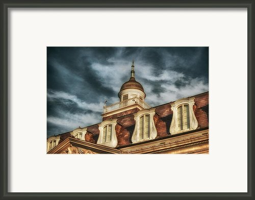 French Quarter Skies Framed Print By Brenda Bryant