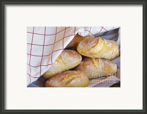 Fresh Bread Framed Print By Carlos Caetano