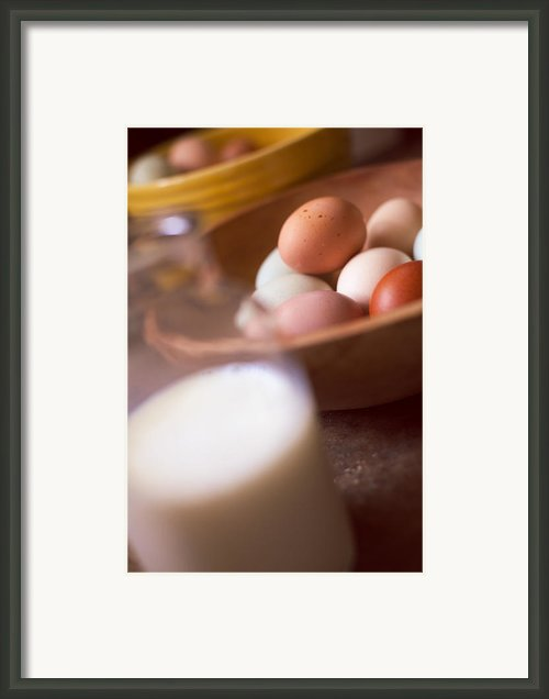 Fresh Eggs  Framed Print By Toni Hopper