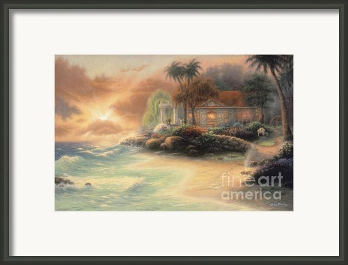 Friday Evening Summer Framed Print By Chuck Pinson