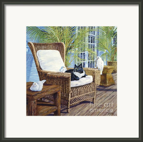 Friends Framed Print By Danielle  Perry
