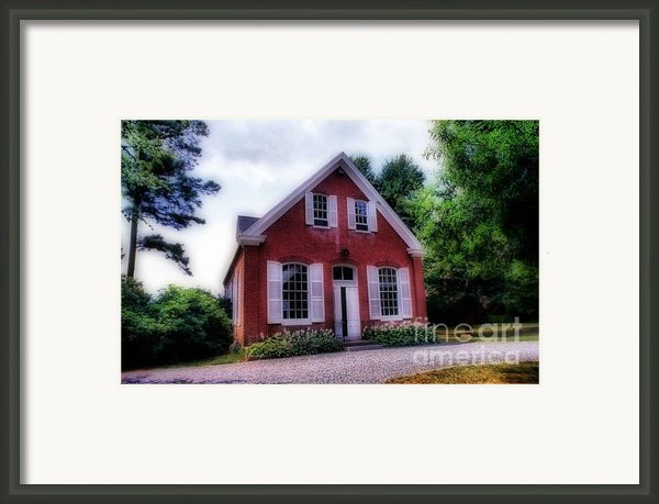 Friends Meeting House Framed Print By Skip Willits