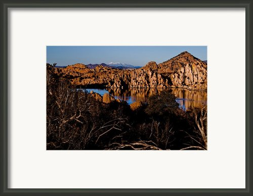 From A Distance Framed Print By Jag Fergus