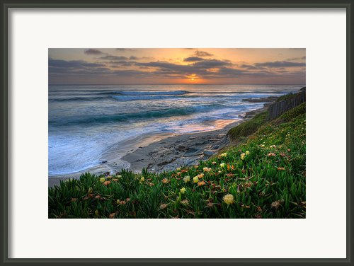 From Above Framed Print By Peter Tellone